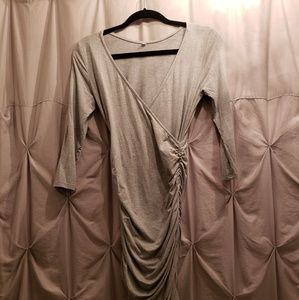 Ruched Form Fitting Dress